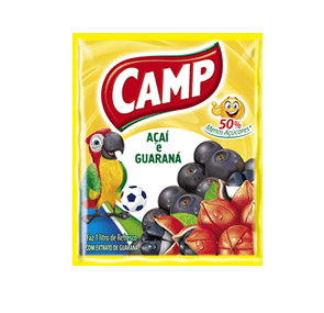 Refresco Camp Açaí e Guaraná   15g