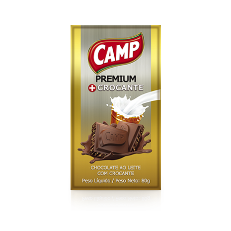 Camp Chocolate Crocante  80g