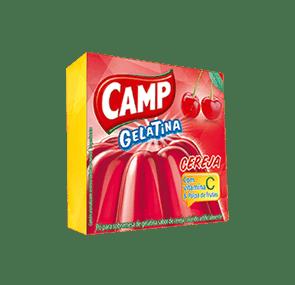 Camp Gelatina Cereja   30g